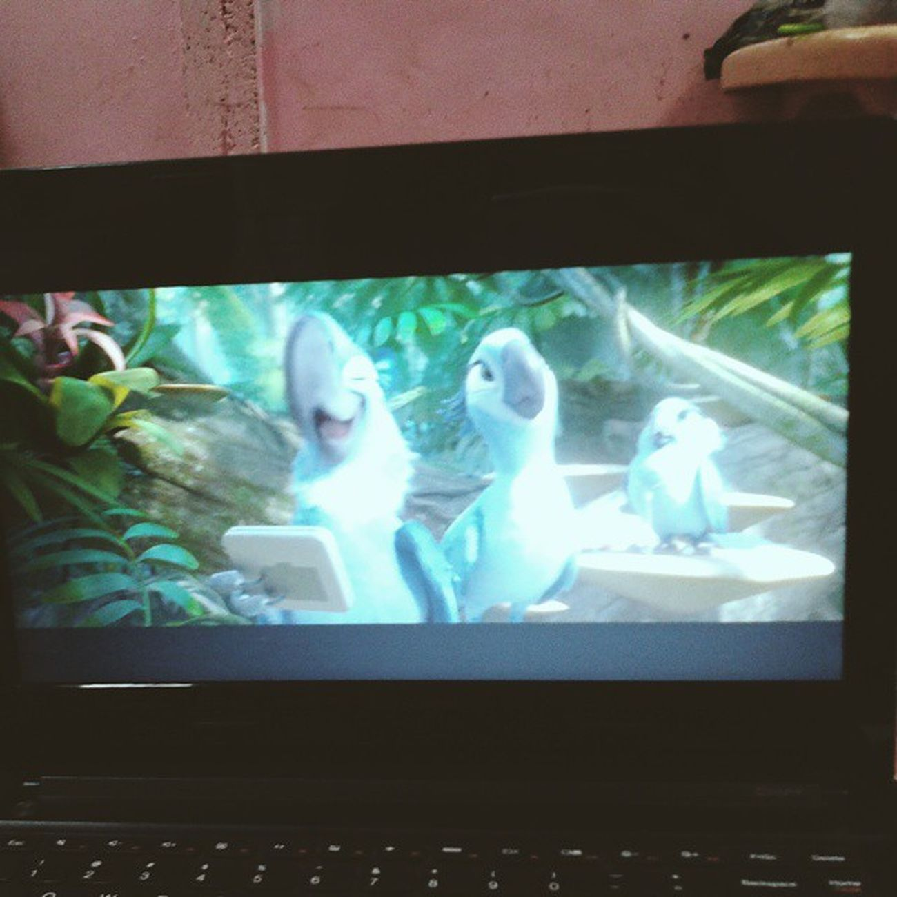Now Watching : Rio 2 with @gnim08 :)) ??