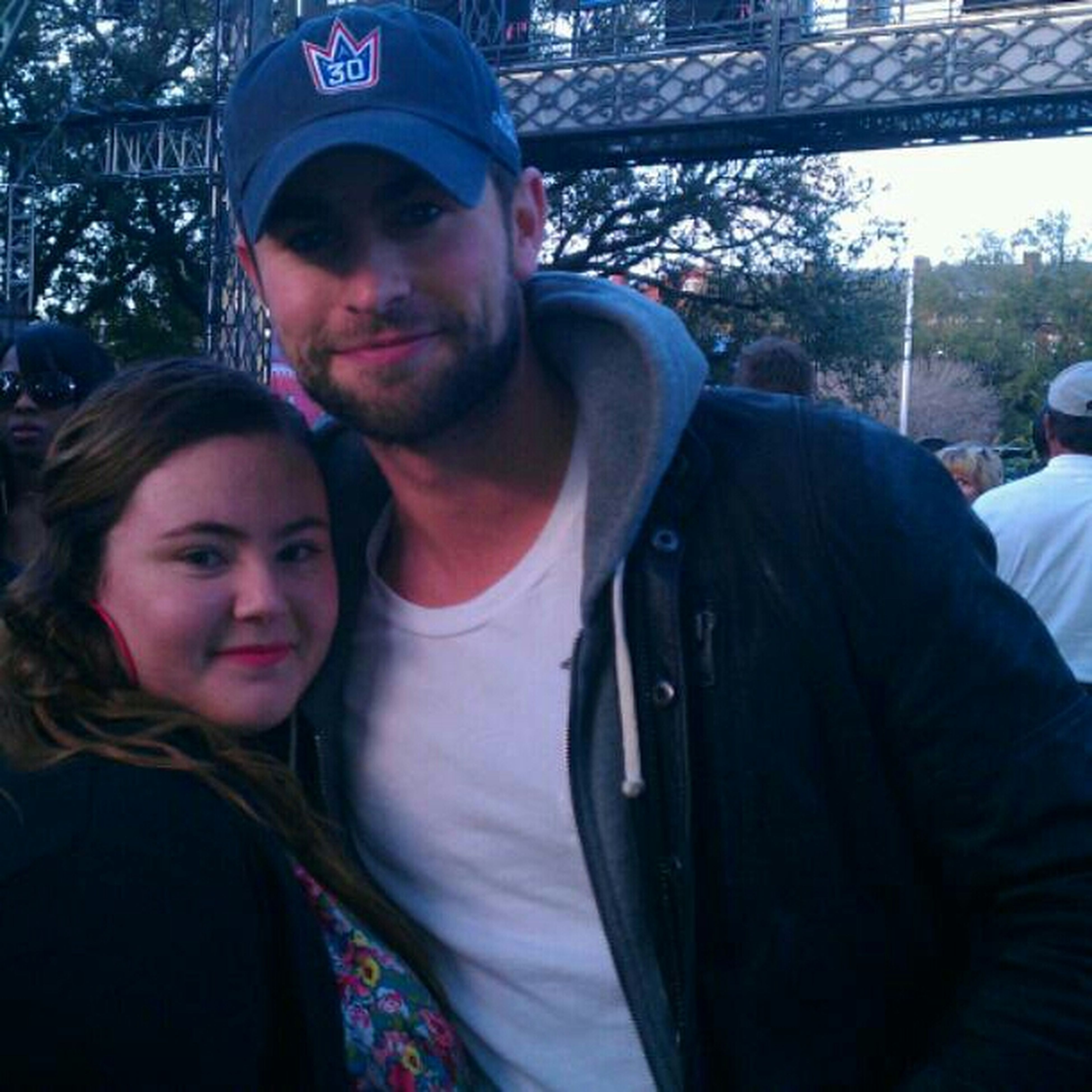 With Chase Crawford ♥