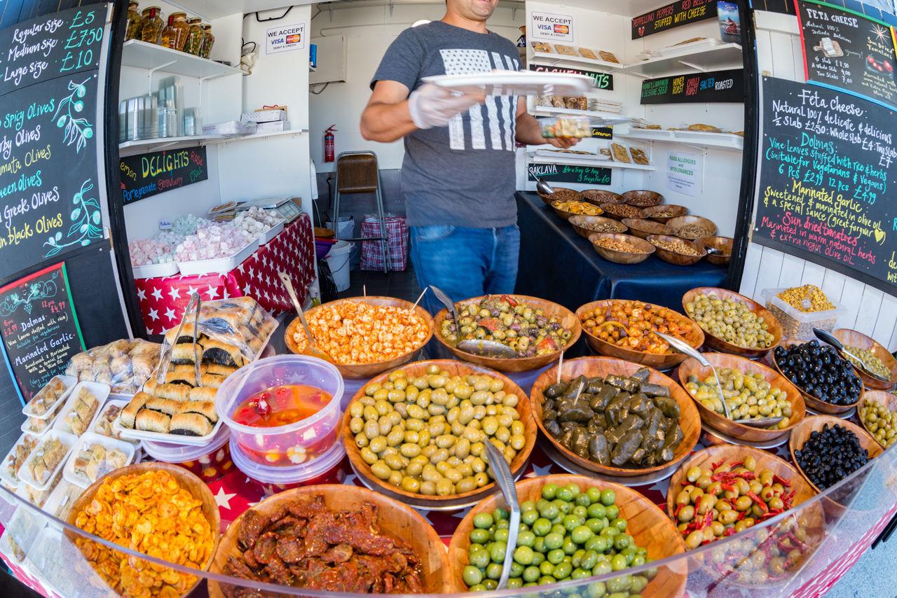 Sunday market Fisheye Food Food And Drink Market Market Stall Olives Street Food Street Photography