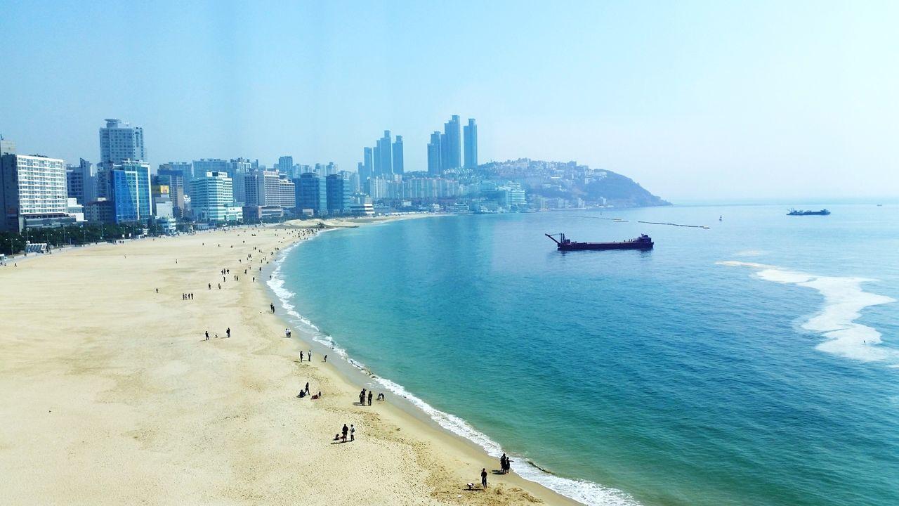 Busan Korea 부산 Busan Haeundae The Westin Hotel Ocean View Oceanside View