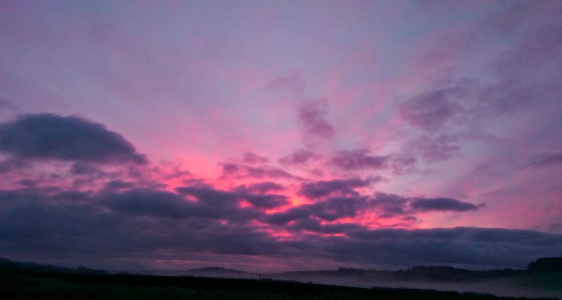 Atmospheric Mood Beauty In Nature Cloud Cornwall Dramatic Sky No People Sky Sunrise