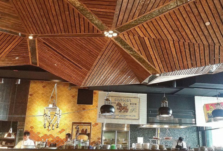 Long Chim Restaurant Thai Restaurant Interior Design Ceiling Streetphotography Singapore
