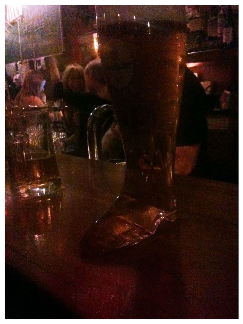 the boot at The Bird The Boot