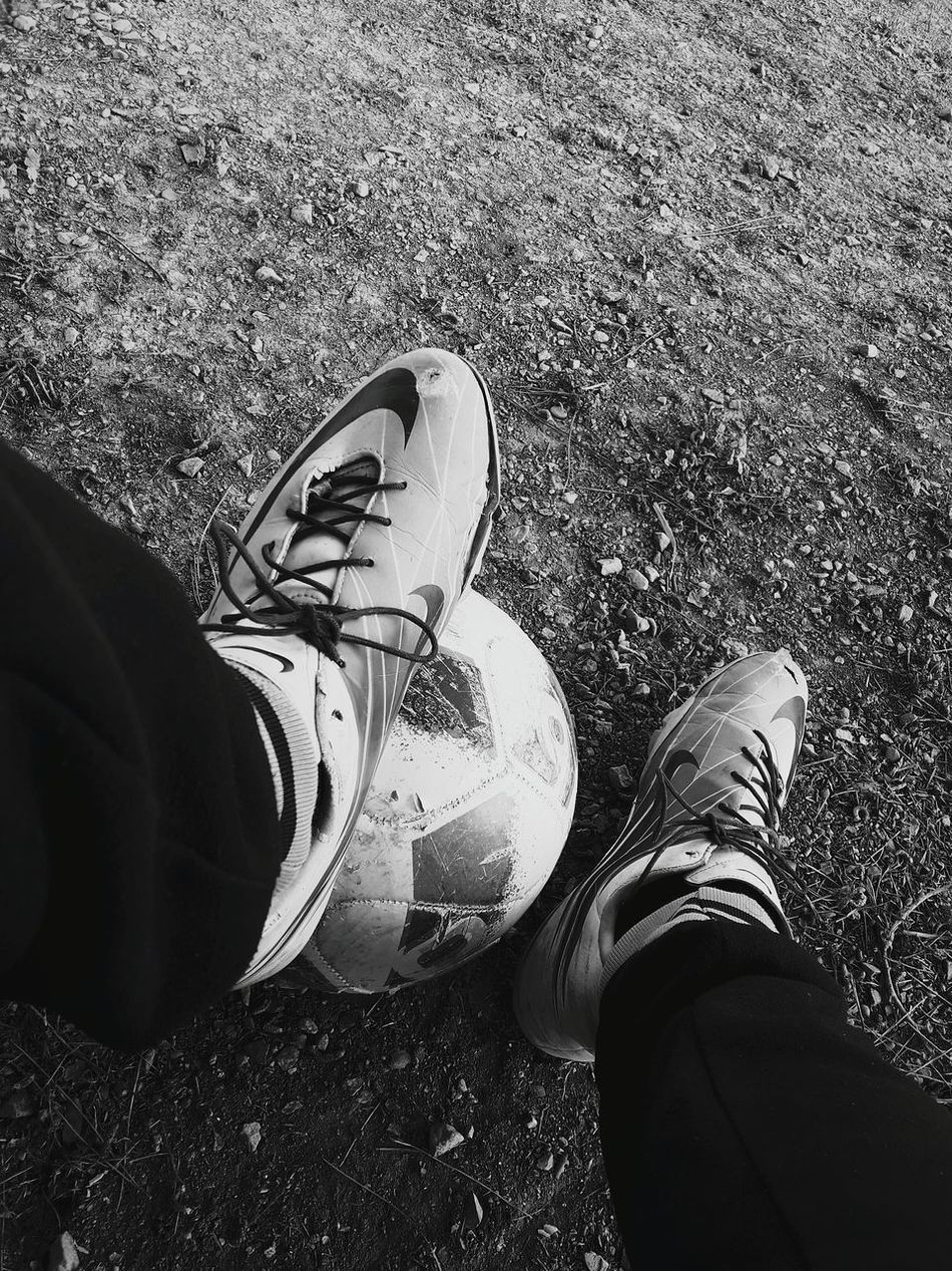 Prepare yourself for your perfect game! It'sonly a chance out of millions... Football Old Shoes Football Practice Black And White Black & White Old Shoes... Newpic