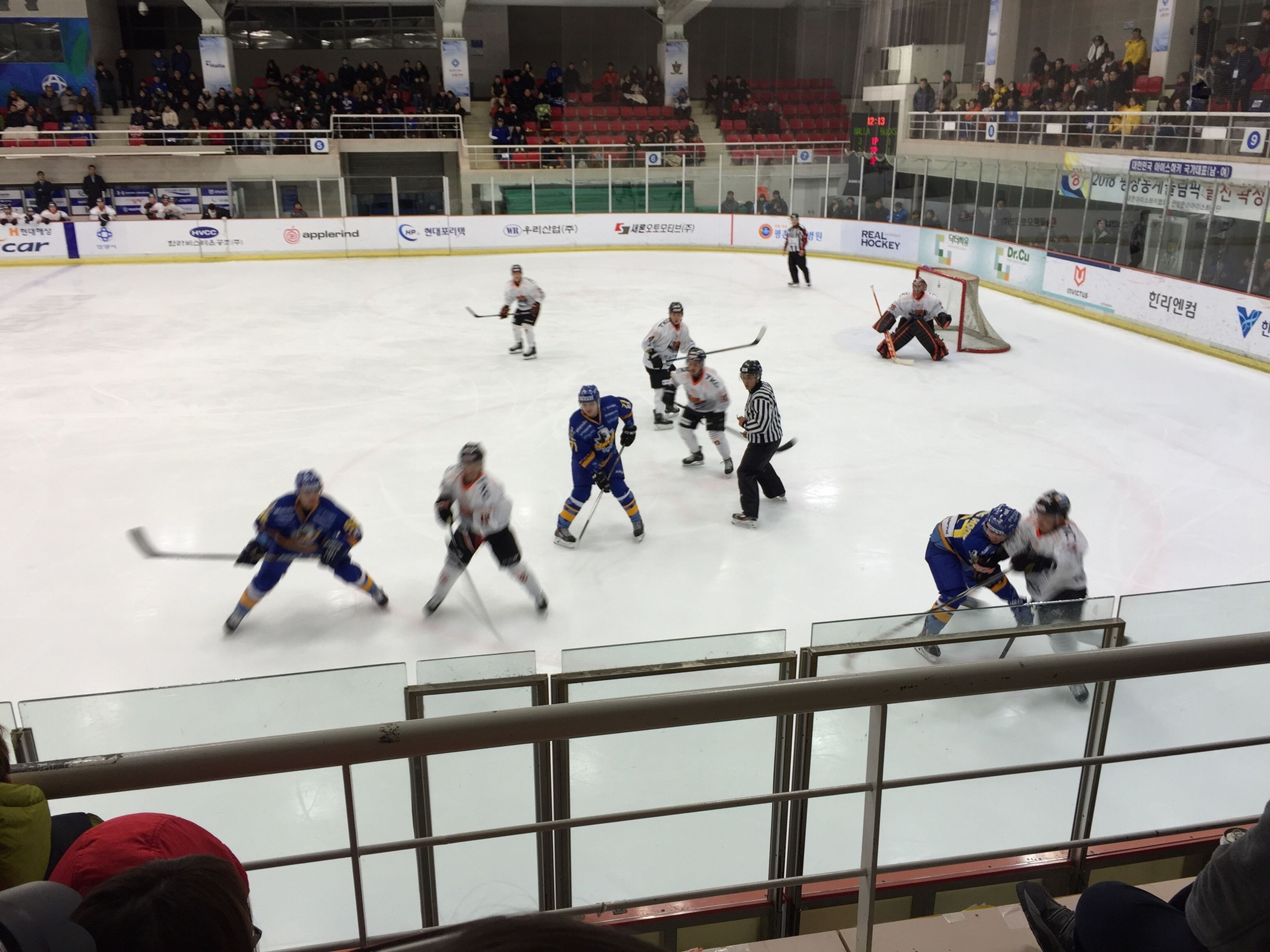 Ice Hockey Hockey Watching Ice Hockey Anyang Halla Ice Bucks Asia League Ice Hockey 안양한라 vs 아이스벅스