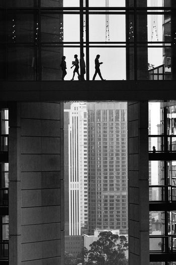 City Slog Cityscape Kuala Lumpur Malaysia  Looking Through Glass Vase Silouette Suspended Bridge Walk Over EyeEmNewHere