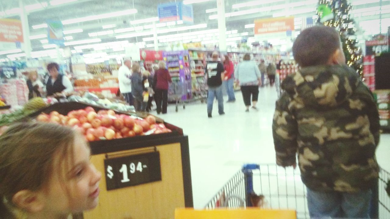 Large Group Of People Men Women Indoors  Real People People Day Supermarket Walmart Large Group Of Objects Indoors