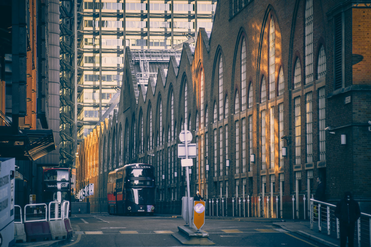 Architecture Architecture Autumn Autumn Colors Built Structure Bus City Day London London Bus London Lifestyle My Year My View No People Orange Color Outdoors Road Street Streetphotography Sun Transportation Traveling Winter