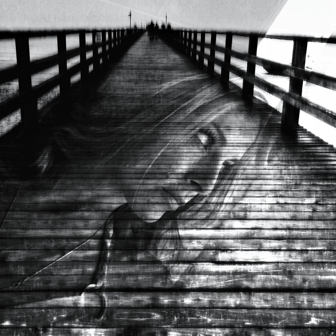 Tales Of Us Double Exposure by Goldfrapp Blackandwhite