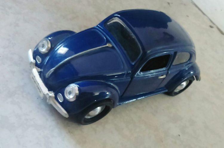 The OO Mission Replica  Beatle Blue Bocho Escarabajo Azul Llantas Volkswagen Faros Hello World