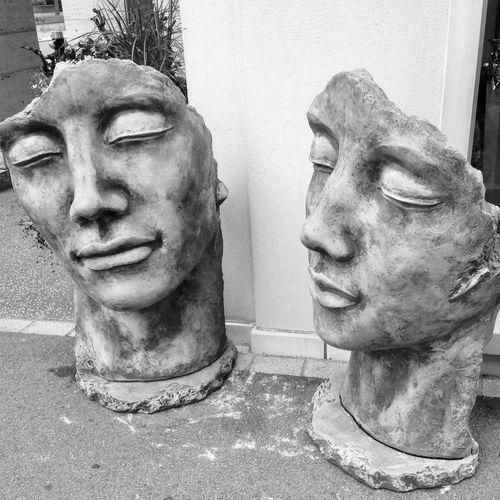 Statue Sculpture Details Lifestyles Human Face Monochrome Streetphotography Blackandwhite Dietikon Limmatfeld