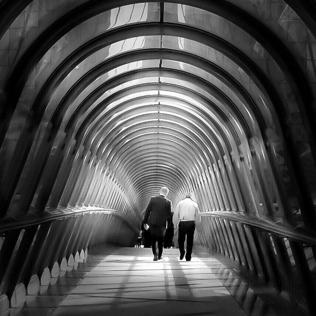 Japs bridge Blackandwhite Black And White Shootermag Paris AMPt - Vanishing Point Architecture Bridge
