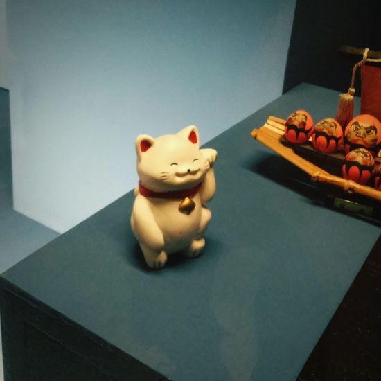 Japanese  Dolls collection @ Manggha // Maneki-neko Cat