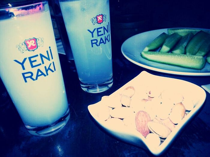 tonight it's raki night :)