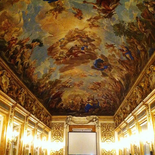palazzo Medici in Florence, Italy 43 Golden Moments Gold Palace Italy Florence Firenze Whatitalyis Pursuepretty ExploreEverything Travel