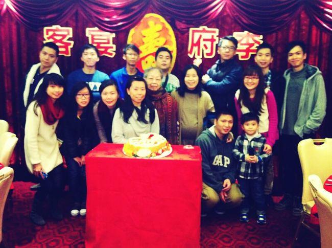 Grandma's birthday celerbation Birthday Family HongKong