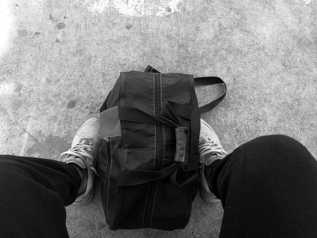 Keep moving forward || Blackandwhite EyeEmNewHere Human Body Part Gym Feet On The Ground Feet And Shoes Joggers Waiting One Person Lifestyles Legs TCPM Break The Mold Live For The Story Out Of The Box