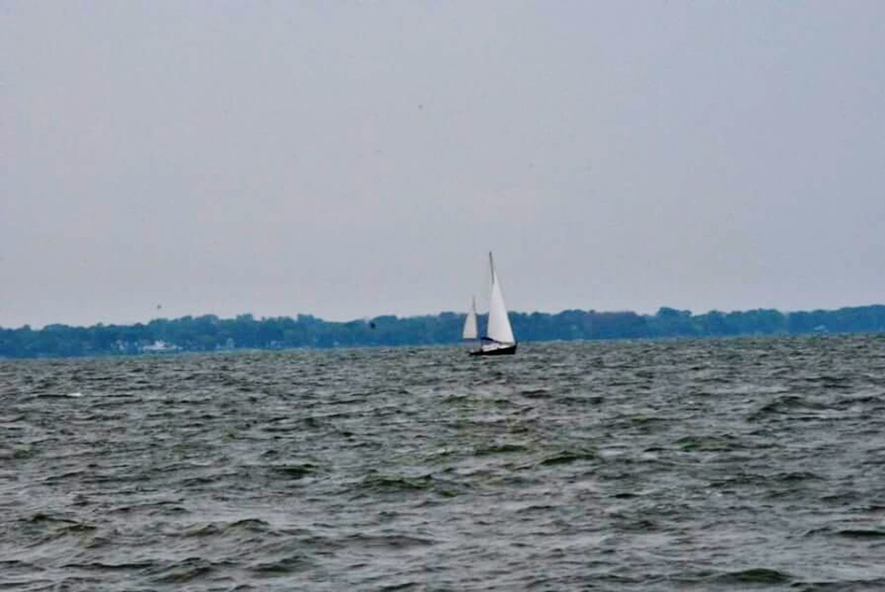 sea, nature, water, waterfront, sky, beauty in nature, no people, sailboat, outdoors, day, sailing, scenics, nautical vessel