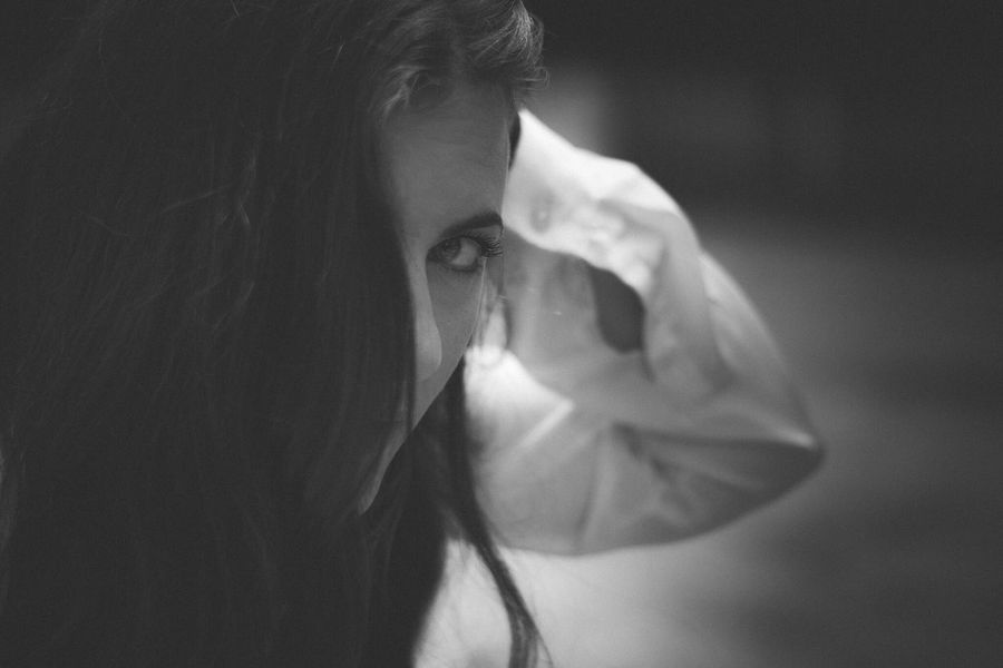 Meta' EyeEm Best Shots - Black + White Portrait model beauty