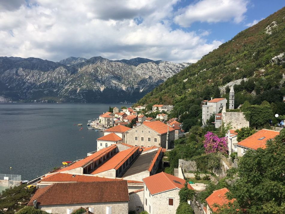 Risan Montenegro Travel Destination Landscape PERAST Bay