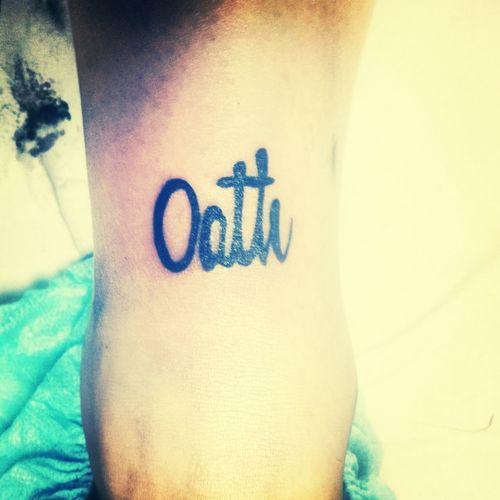 Tattoo That's Me oath