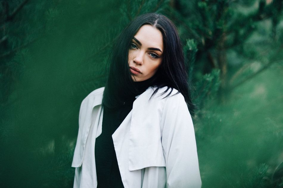 Beautiful stock photos of green, arts culture and entertainment, one person, beauty, portrait