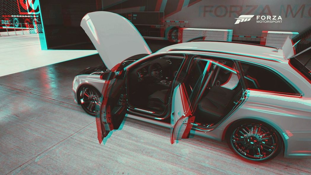Forza Motorsport 6 3d pic Audi rs4 On The Road Cars Games 3D Picture Audi Selfmade