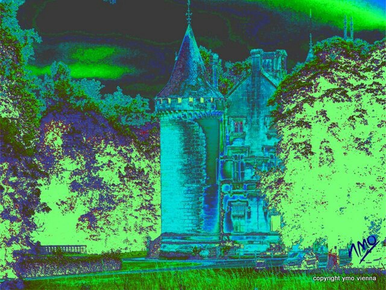 Le Château de ma mère Digitalart  Digital Painting Ymoart YMO Digital Art Composition Stilleben Hello World Gemaeldegalerie Berlin Mystery Inspirations Imaginaire J'aime La Peinture.