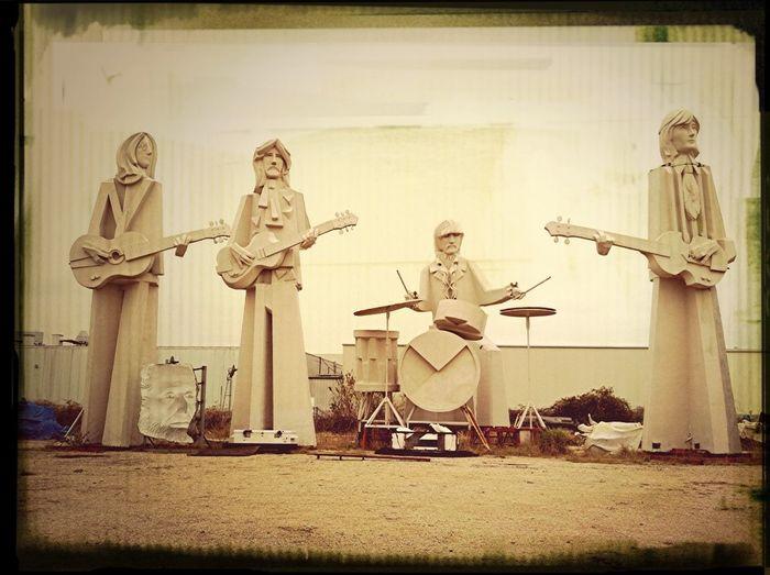 David Adickes The Beatles