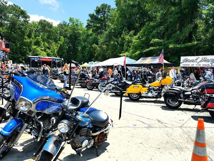 Mode Of Transport Parking Transportation Outdoors Day People Myrtlebeachsouthcarolins Harley4life Harleygirl Harleydavidsongirl Bikeweek Bikeweek2016