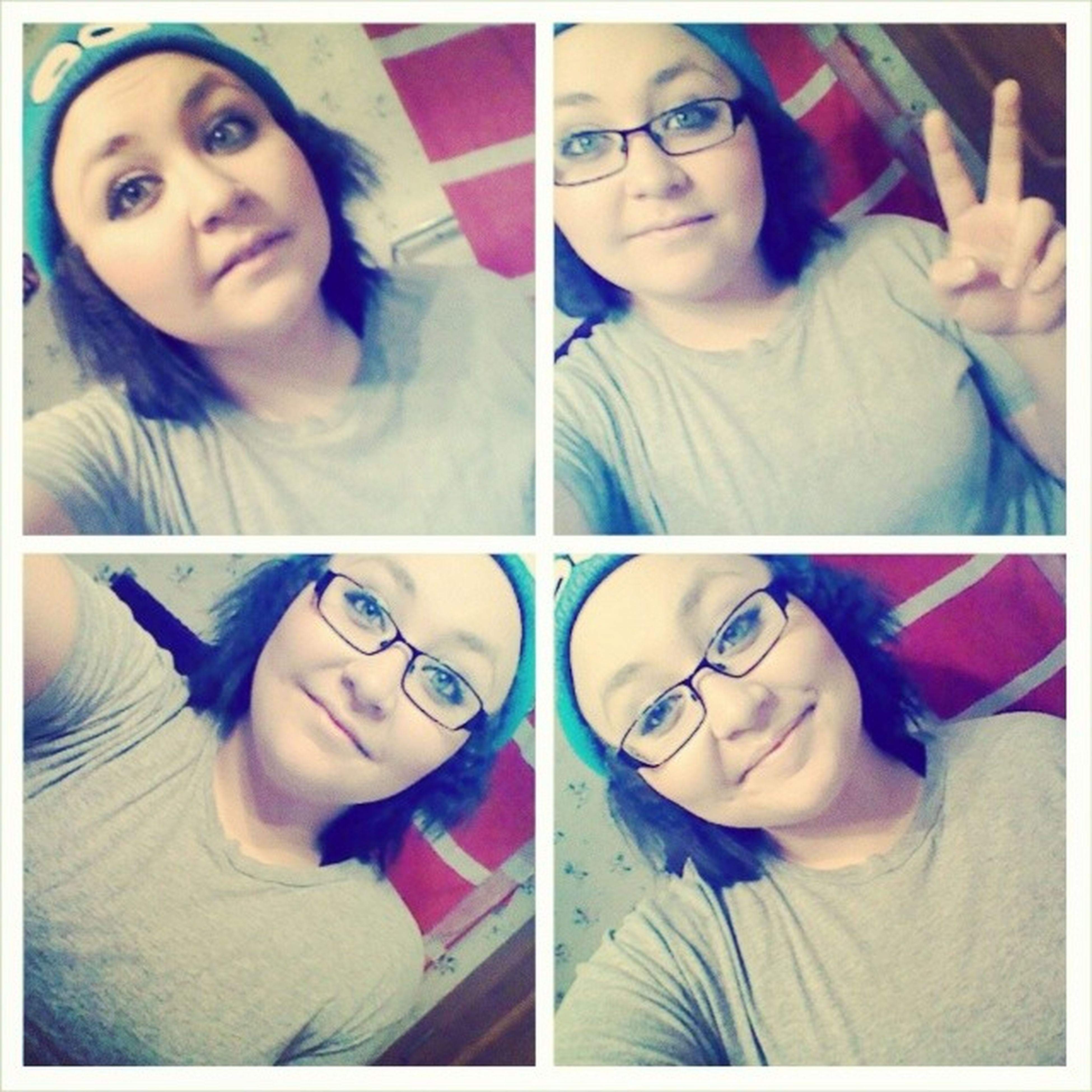 CookieMonsterBeanie Nerd Smiles Peace happiness PursuitOfHappiness ♥