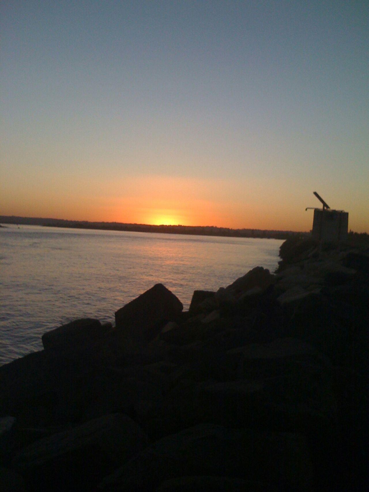 Sunset Sunset #sun #clouds #skylovers #sky #nature #beautifulinnature #naturalbeauty #photography #landscape