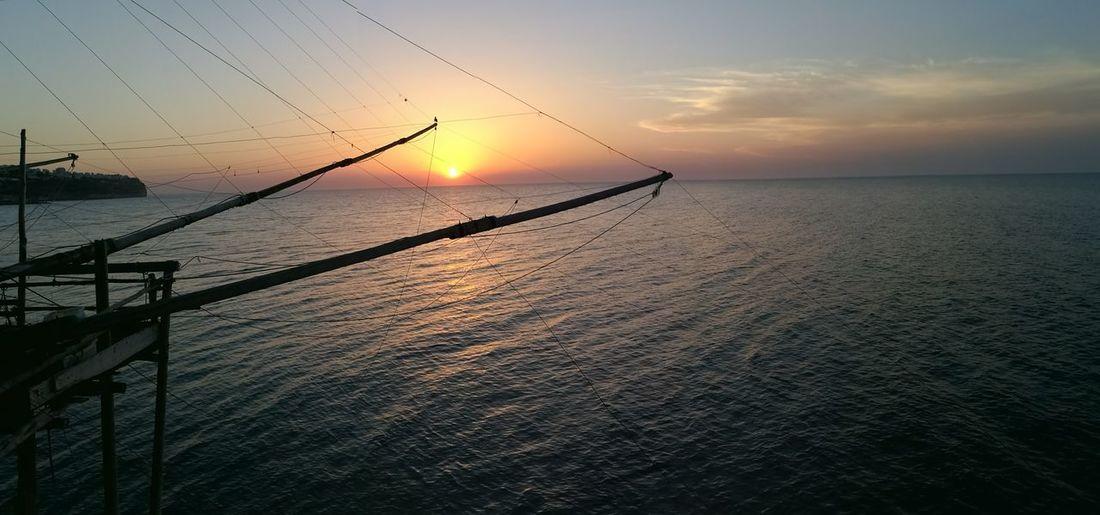 Sunset Water Beauty In Nature Sea Outdoors Nature Gargano Puglia Peschici (FG) Peschici Vieste Puglia EyeEmNewHere The Week On EyeEm