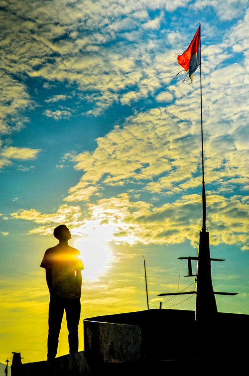 Sunset Florestimur Indonesia Photography  Silhouettes Human Body Part Adults Only