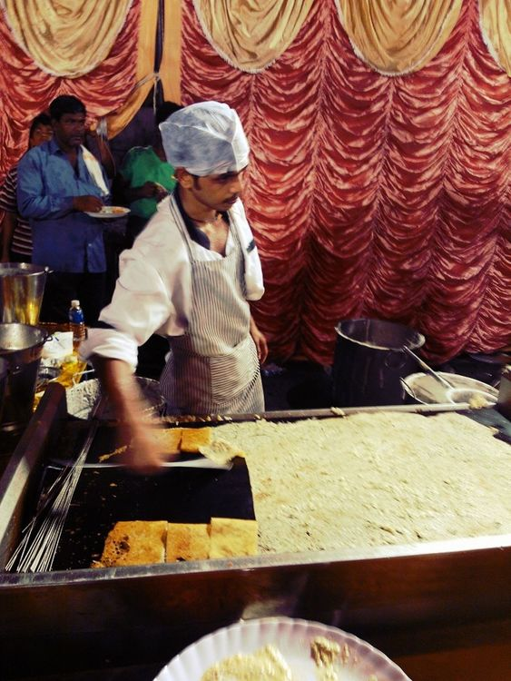 what a huge dosa!! by Bharadwaj Chandramouli