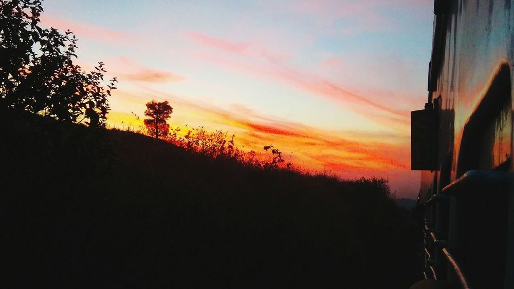 Sunset Skyporn Silhouette