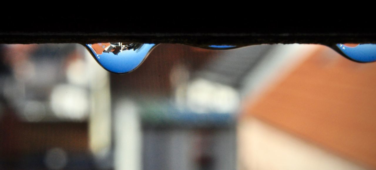 Close-up Day Drop Droplet Drops Focus On Foreground Home Life Mirrorimage Outdoors Reflection Reflections Sky Sunlight Trees Upside Down Village Vision Water Water Reflections Waterdrop Waterdroplets Waterdrops