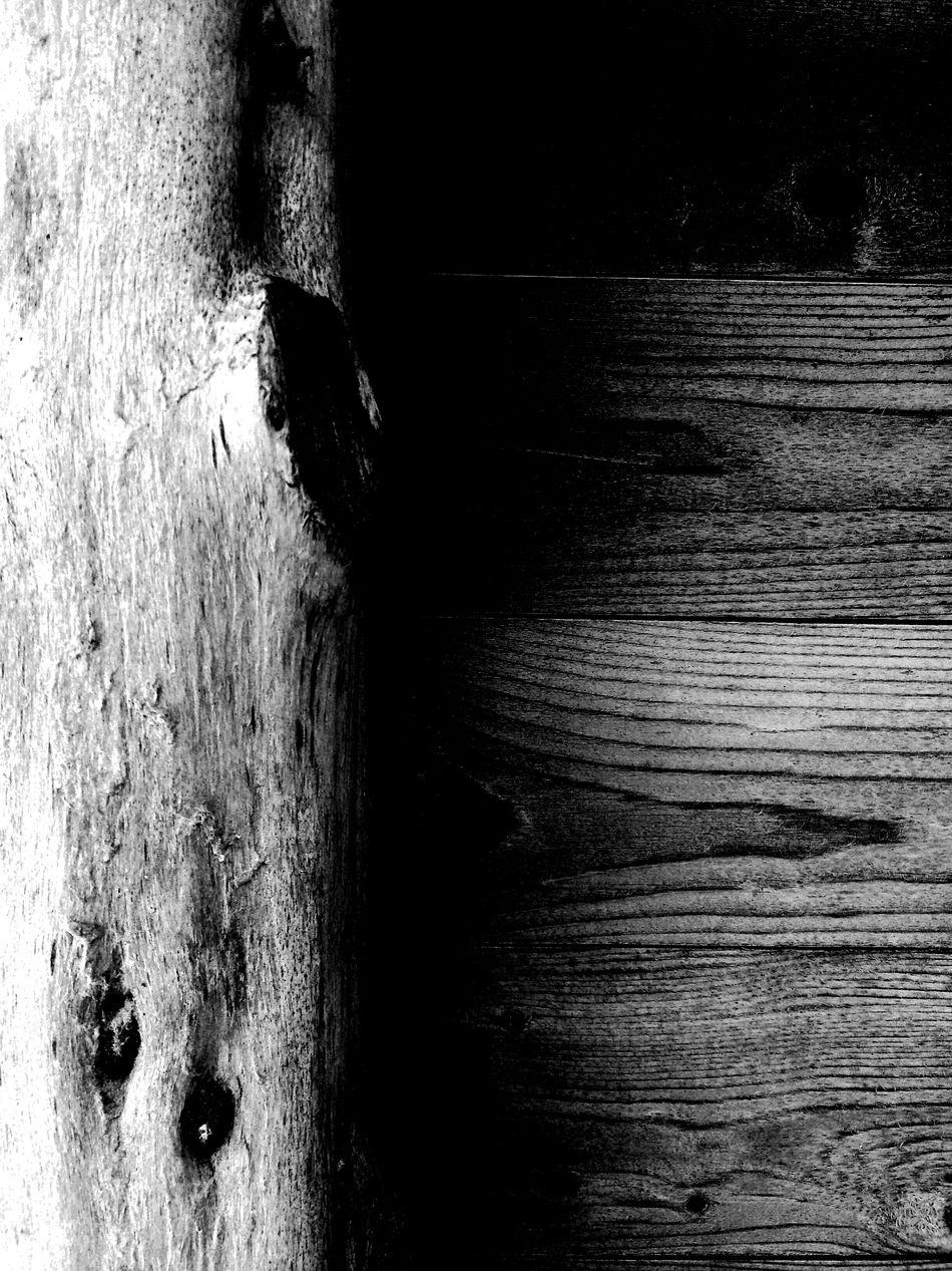 Wood Blackandwhite