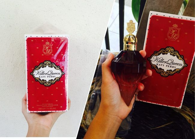 New parfum. I got my Killerqueen how about you guys? Loveit