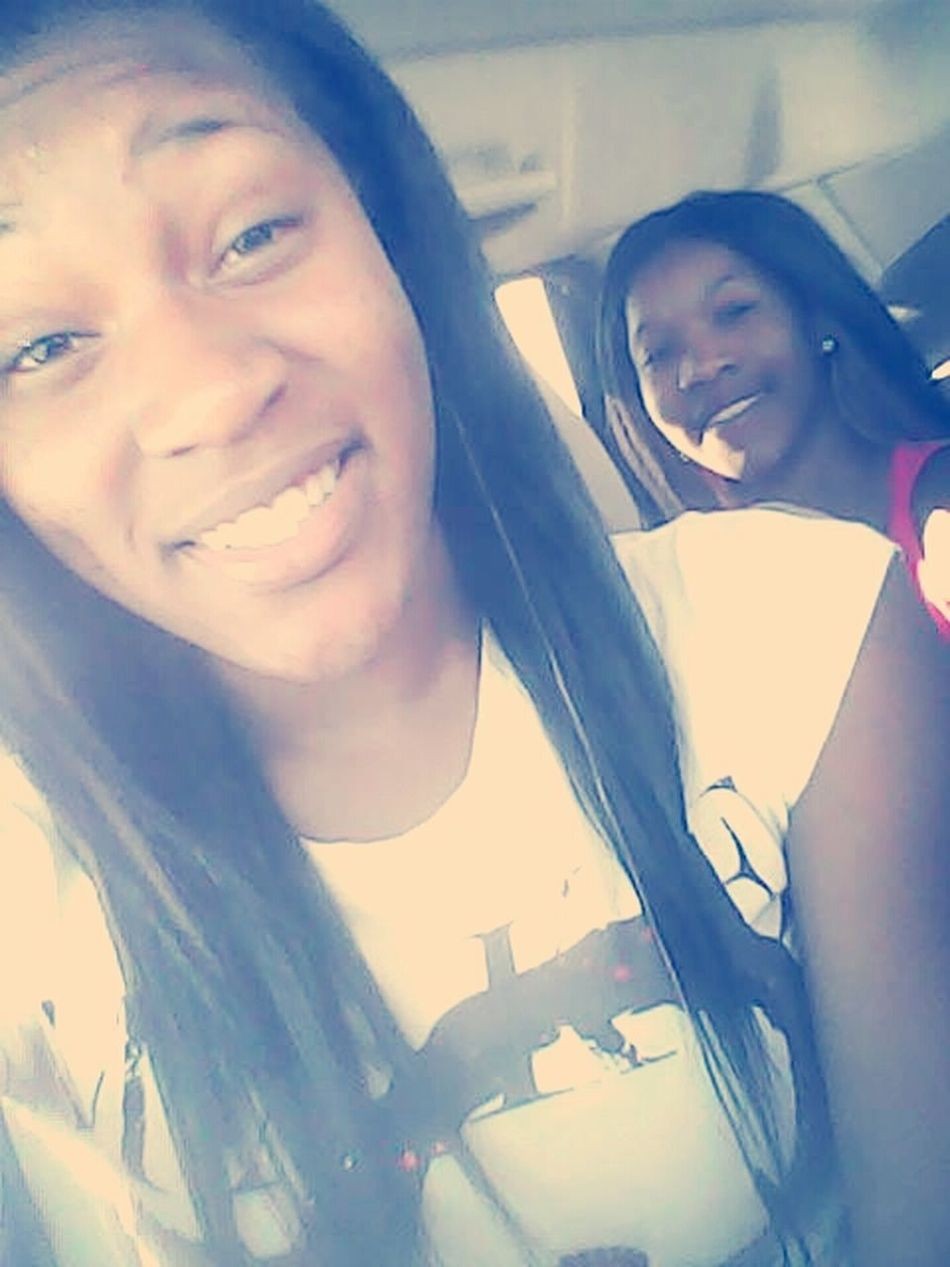 in the car with Quay