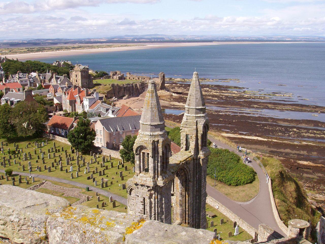 Beautiful stock photos of scotland, architecture, sea, outdoors, no people