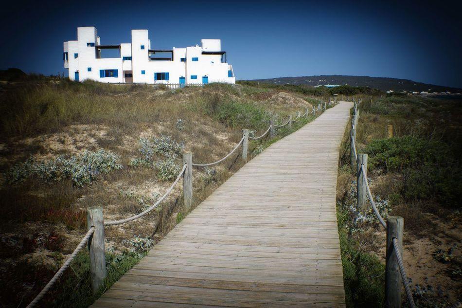 en la playa Beach Formentera Island Ibiza Beach Playa Sea And Sky Sunny Day Villa Vintage