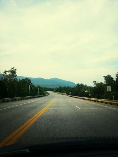 All I need & the open road to wonders Road Trip Hello World Landscape