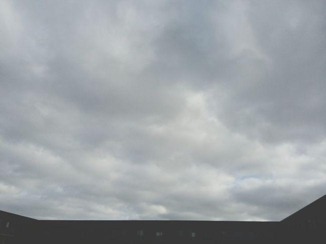 Clouds. · Hamburg Germany 040 Clouds And No Sky Cloudporn Cloud Cloudy Cloudycloud Gray Grayness Nature Minimalism Simplicity