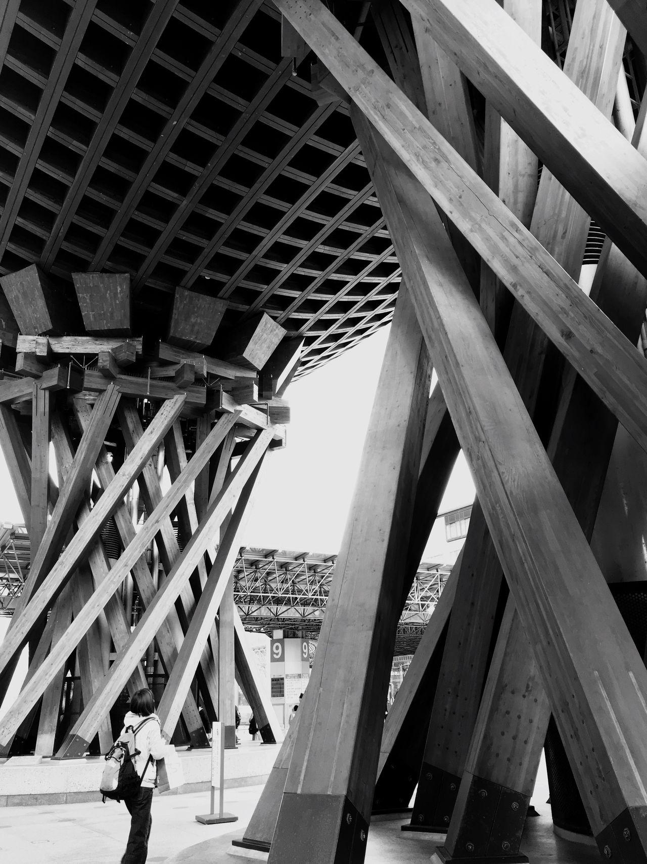 鼓門 @KANAZAWA Gate Station Archtecture Kanazawa,japan