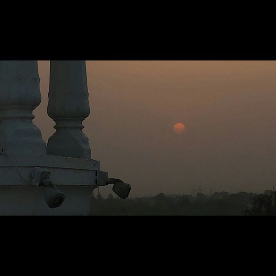 Tatooine Sunset in ANANDPURSAHIB Gurdwara AnandGharh Punjab India setlife doclife Sikh sikhlife