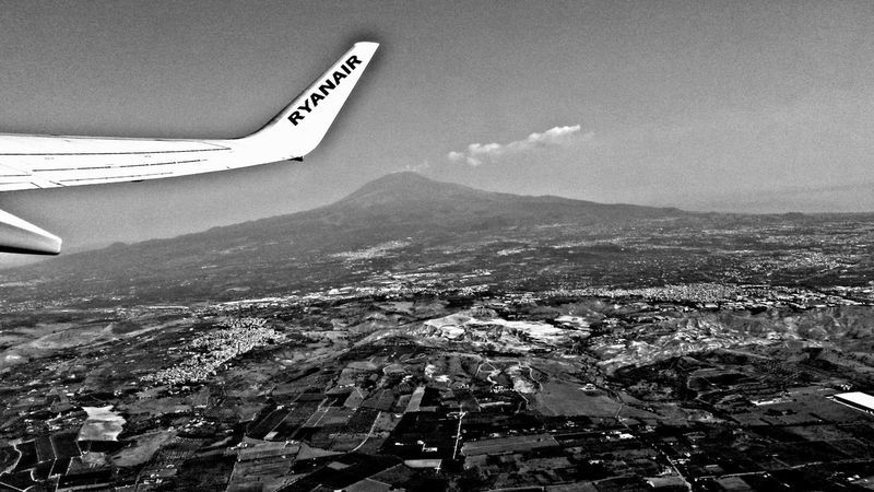 Volcano Etna Home Sweet Home Myland  Sicily Catania Trinacria Love Casa Blackandwhite Vulcano