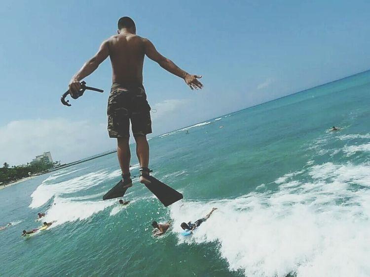 Hello World Taking Photos Hawaii I'm Flying