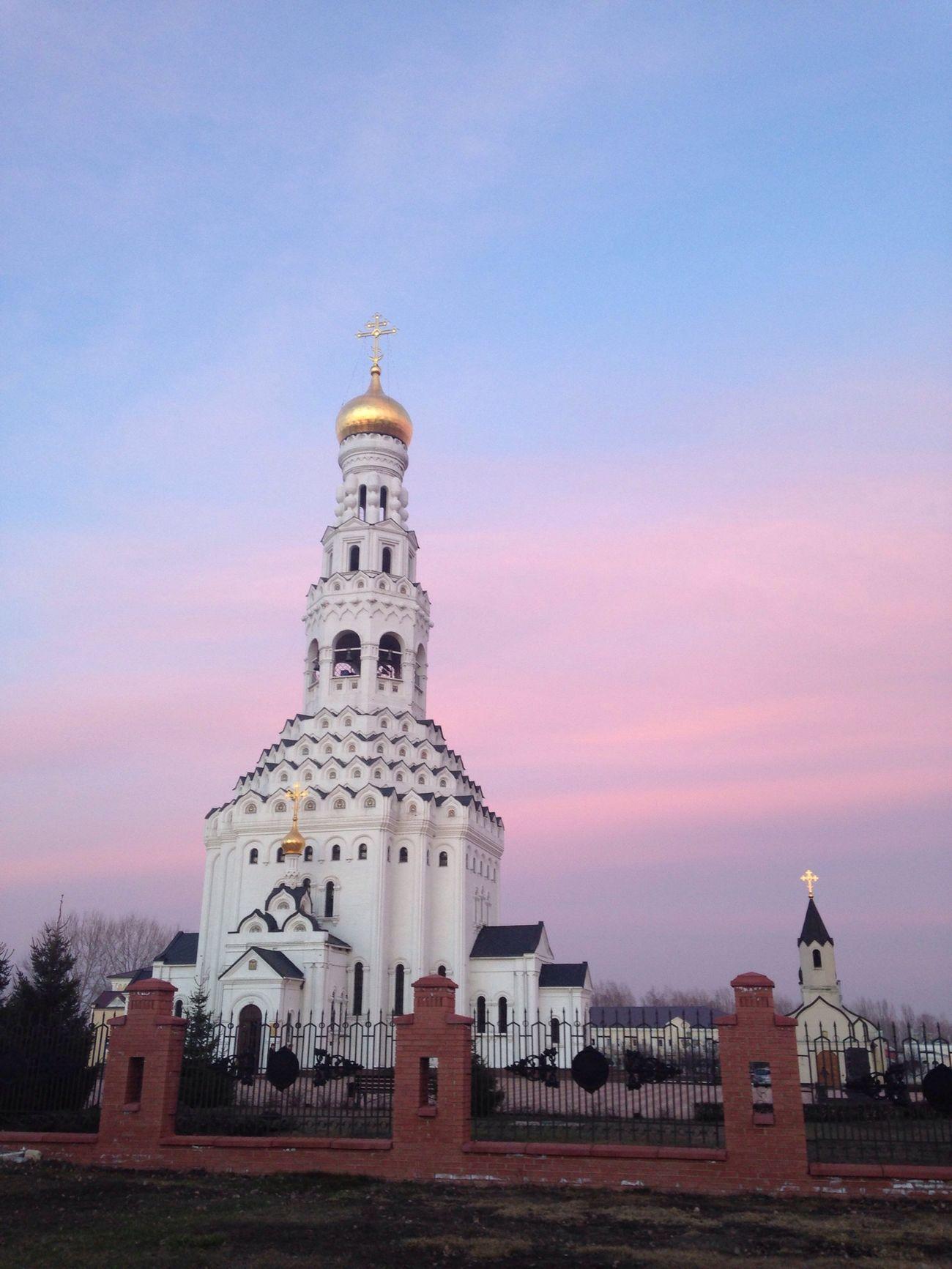 безфильтра Prokhorovka храм небо⛅️ красота