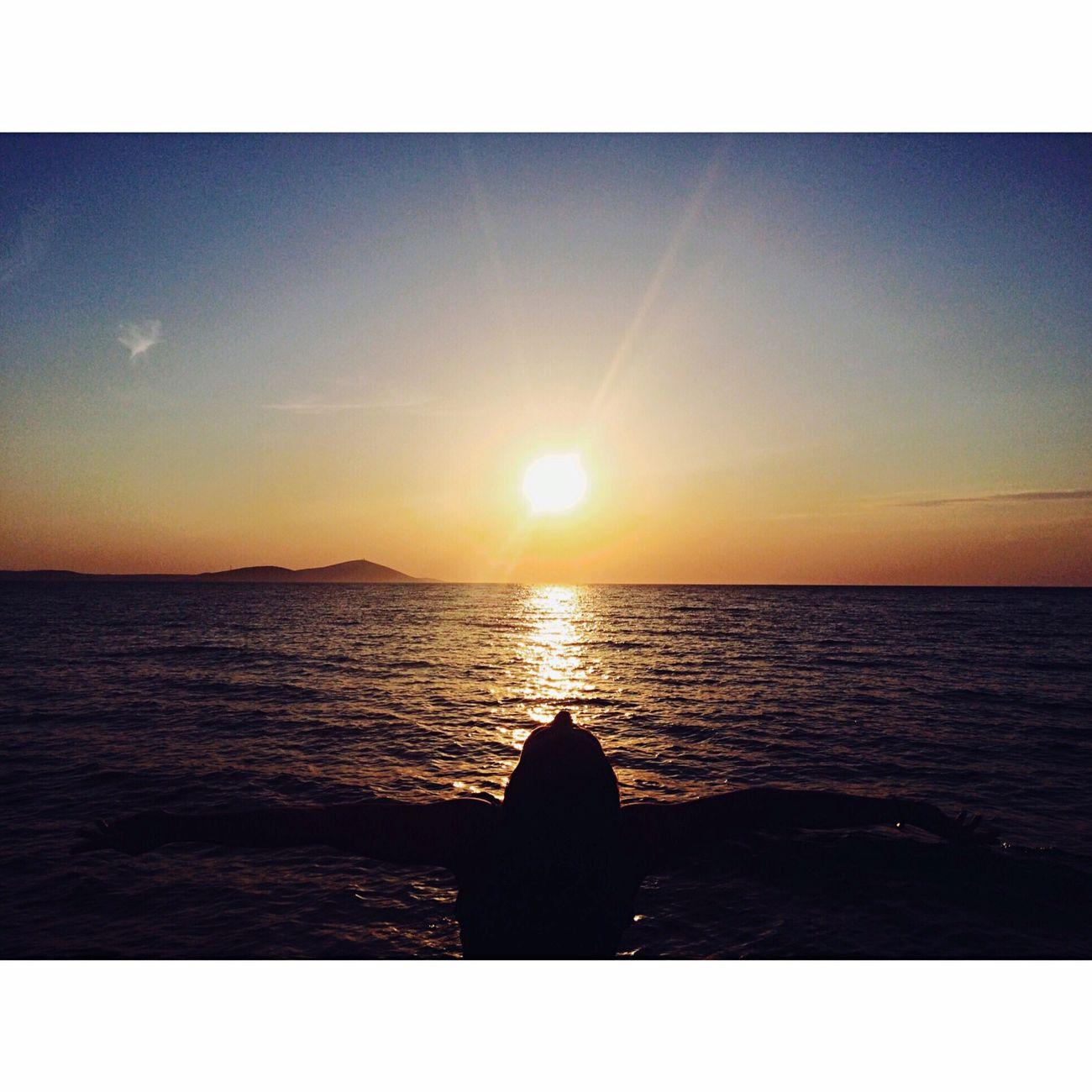 Bozcaada Deniz Günbatımı 🌅